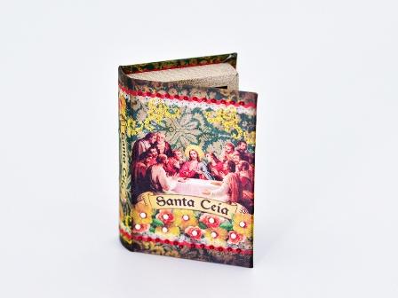 Mini Book Box  Santa Ceia