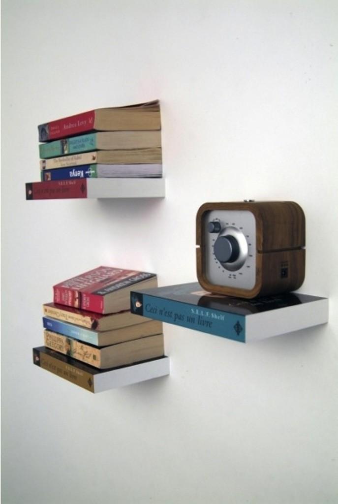 Prateleira Invisível Shelf Conceal - Umbra