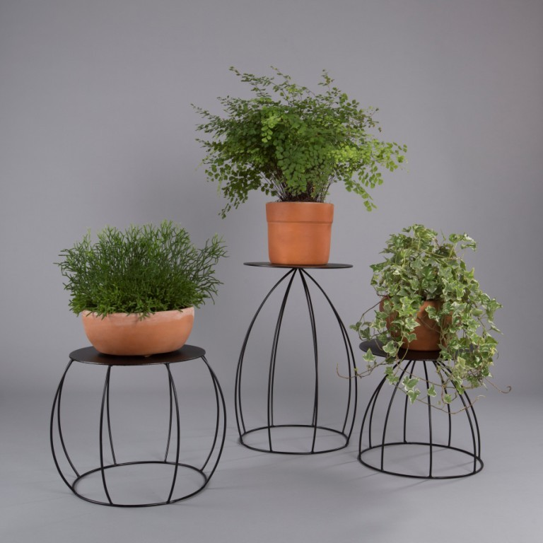Suporte De Vaso De Parede Botânico Para Plantas Bojudo M
