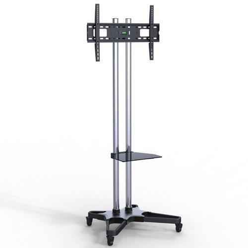 """Suporte Pedestal com rodas e travas para TV LCD/LED, Para tela de 37""""-70"""" FT-6418CR"""