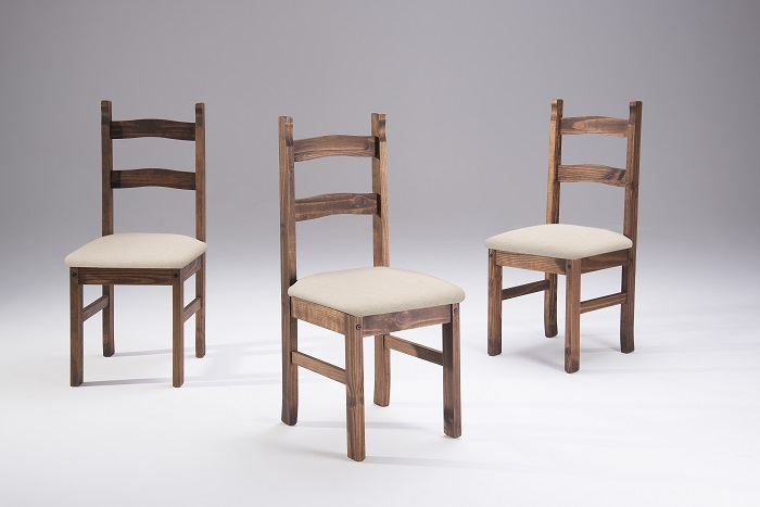 Cadeira Milla Cera com Assento Estofado ( TECIDO 320 ) - Casa da Serra