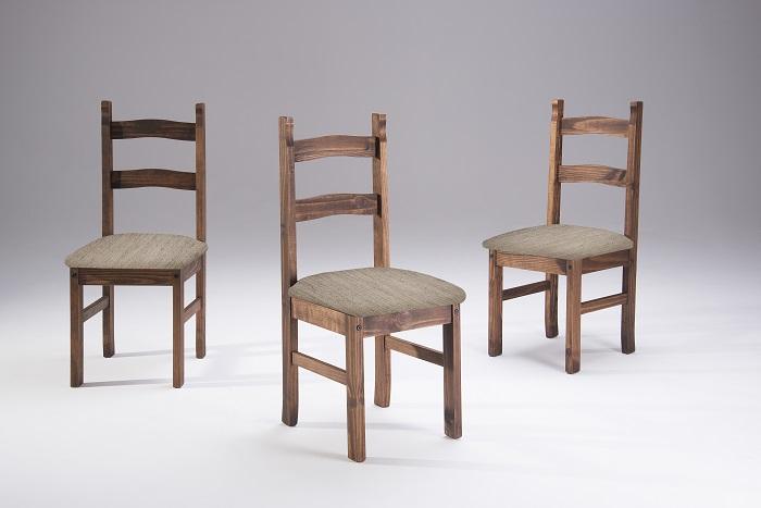 Cadeira Milla Cera com Assento Estofado ( TECIDO 322 ) - Casa da Serra
