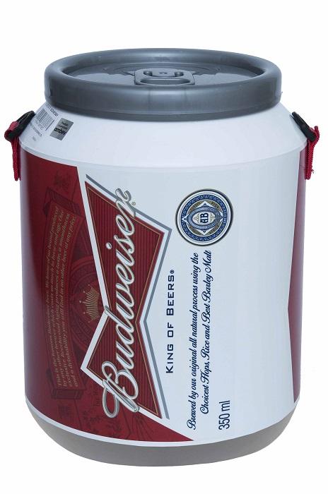 Cooler Térmico para 12 Latas de 350 ml BUDWEISER