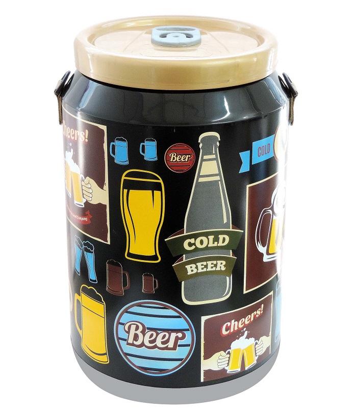 Cooler Térmico para 24 latas 350ml VINTAGE PRETO