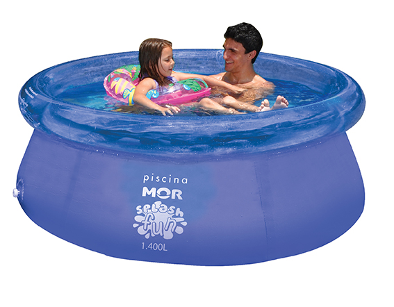 PISCINA SPLASH FUN Ø1,80mx63cm - 1400L