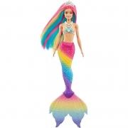 Barbie Fan Sereia  Muda de Cor