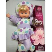 Boneca Baby Fashion Lilás - Cortex