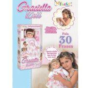Boneca Graciella Doll 30 frases 558 Miketa