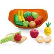 Brinquedo Fruteira Nutri Cozinha 3 anos + - Calesita Tateti