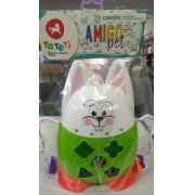 Brinquedo Infantil Blocos E Formas Amigo Pet Sortido Tateti