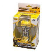 Carro robô amarelo - coloria