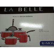Conjunto De Panelas Ramos La Belle - 5 Peças