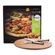 Conjunto Pizza Em Casa 3 Peças Top Line
