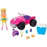 Conjunto Polly Pocket Quadriciclo Fabuloso Original Mattel