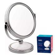Mercado Livre Espelho Aumento Dupla Face Maquiagem Barba Classic-Mor