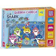Quebra-cabeça Club Shark 108 PÇS - Brincadeira De Criança
