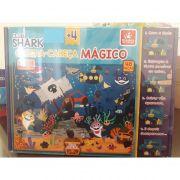 QUEBRA CABECA MAGICO CLUB SHARK 48PCS - BRINCADEIRA DE CRIANCA