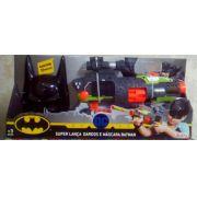 - Super Lançador e Máscara Batman - Novabrink
