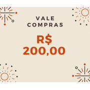 Vale Compras R$ 200,00