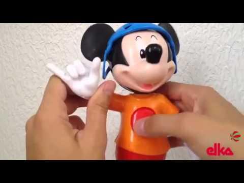 Boneco Mickey Radical - Elka - Disney