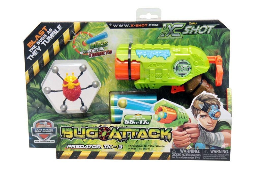 Lançador de Dardos - Bug Attack - Predator - Candide