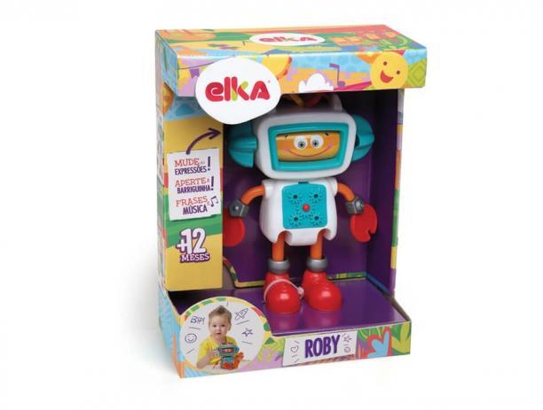 Roby Robô de Atividades - Elka