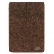 Capa iPad Air 2 / iPad Air - Origami Revestida em Madeira - Cooya