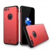 Capa iPhone 7 Plus Baseus Dupla Proteção Pinshion - Vermelha / Red