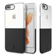 Capa iPhone 7 Plus Baseus Half to Half Dual Original - Preta