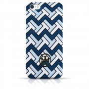 Capa iPhone Se / 5s / 5 - Tory Burch - Listra Azul
