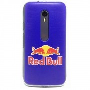 Capa Moto G3 / Turbo - Red Bull