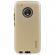 Capa Moto G5 Plus - Anti Impacto Queda Shock - Dourada