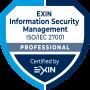 ISO/IEC 27001 - Professional