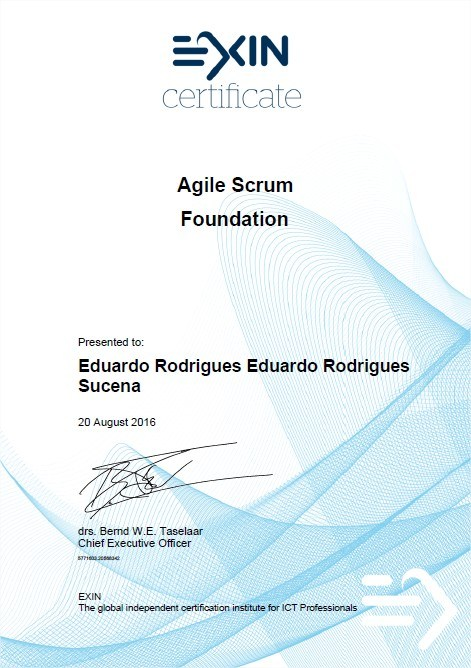 Exame Online - Agile Scrum Foundation