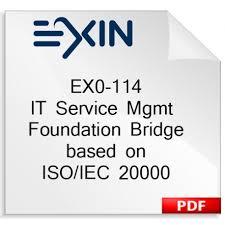 Exame Online - ISO 20000 - Foundation Bridge