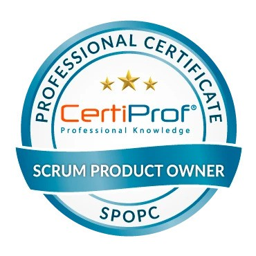 SPOPC - Scrum Product Owner Professional CertiProf®