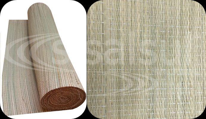 ESTEIRA DE PALHA JUNCO 80cm largura x 1m comprimento
