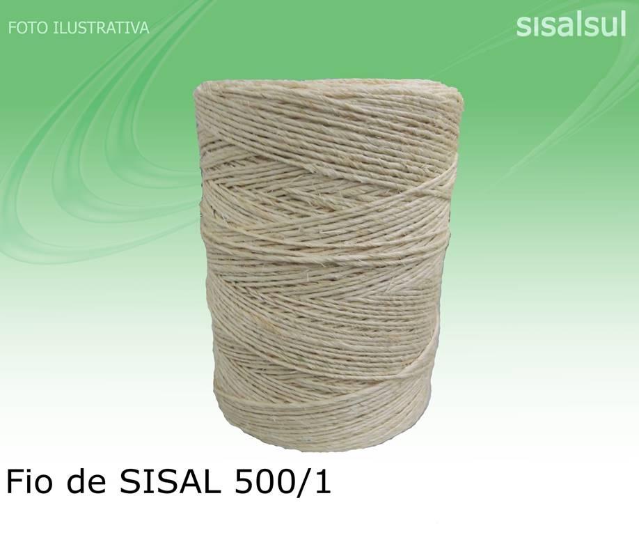 1 Rolo Fio sisal 500/1 1,5 mm