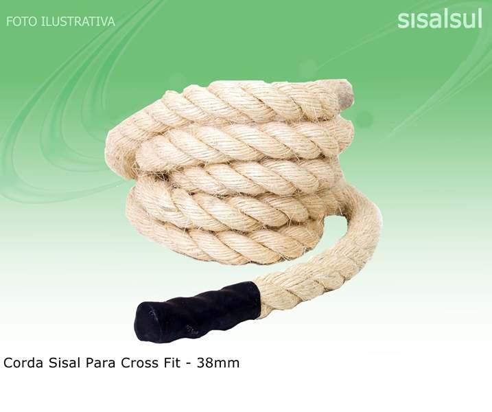 Corda Sisal Para Cross Fit - 38mm