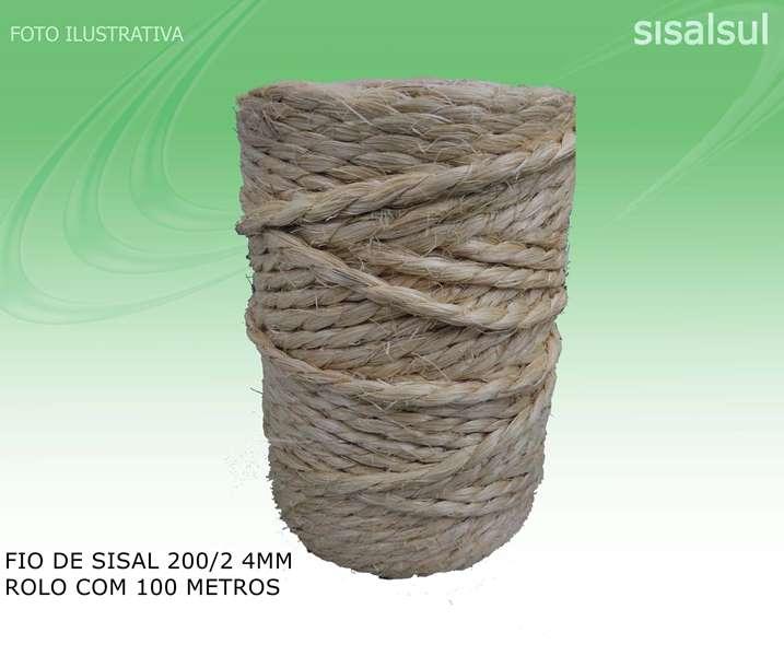 Fio de Sisal 200/2 4 mm
