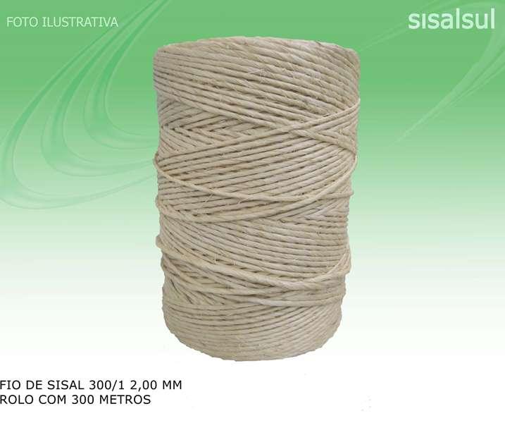 Fio de Sisal 300/1 2 mm