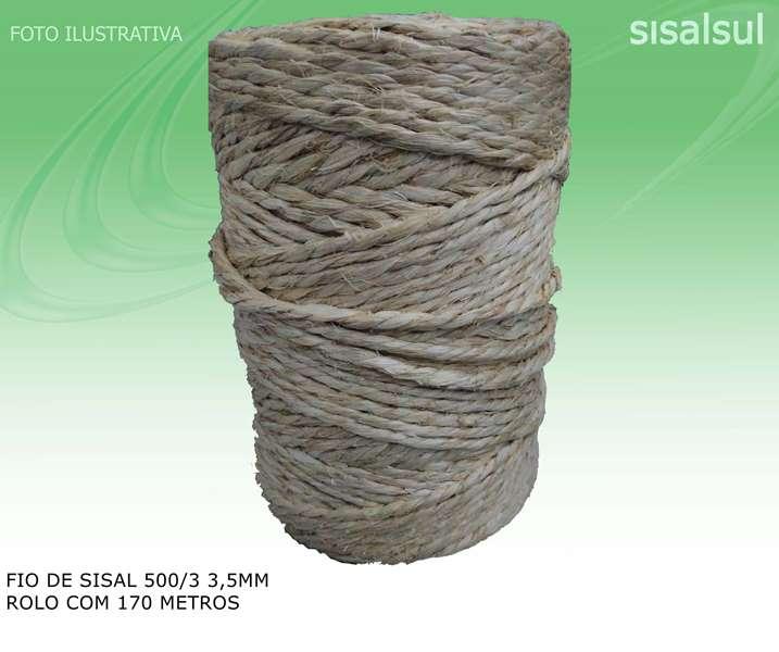 Fio de Sisal 500/3 3,5mm