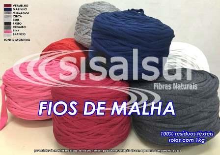 Kit 3 Rolos Fios De Malha - 3kg