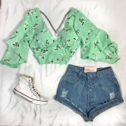CROPPED LISI FLORAL