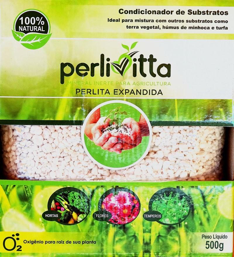 perlita expandida (pacote de 500g)