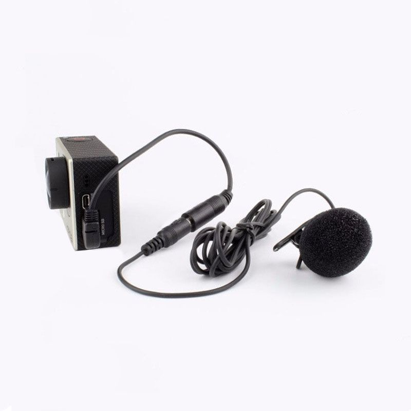 Adaptador de Microfone - 3.5mm para Mini USB - GoPro Hero3 e Hero3+