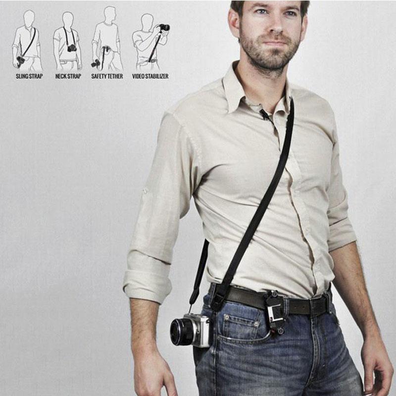 Alça de Ombro DSLR - Nikon Canon - Sling Leash