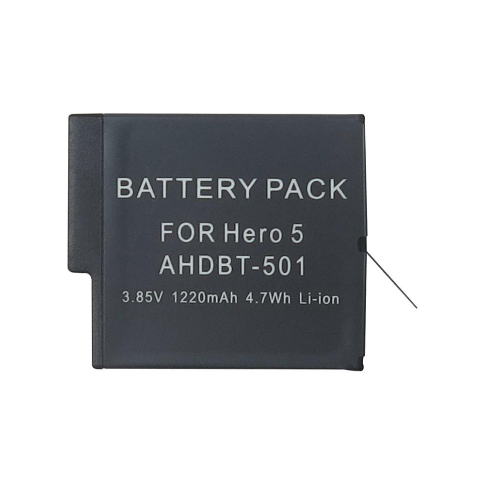 Bateria GoPro Hero5, Hero6 e Hero7 - 3.85V - 1220mAh - 4.7Wh - Li-ion