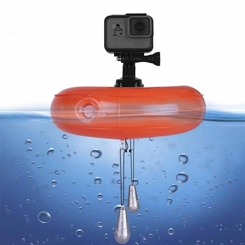 Boia Flutuante Inflável Telesin - GoPro SJCAM Yi Eken