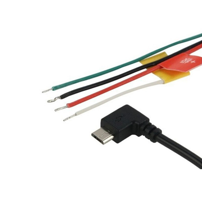 Cabo Micro USB para saída de Áudio e Vídeo - SJCAM